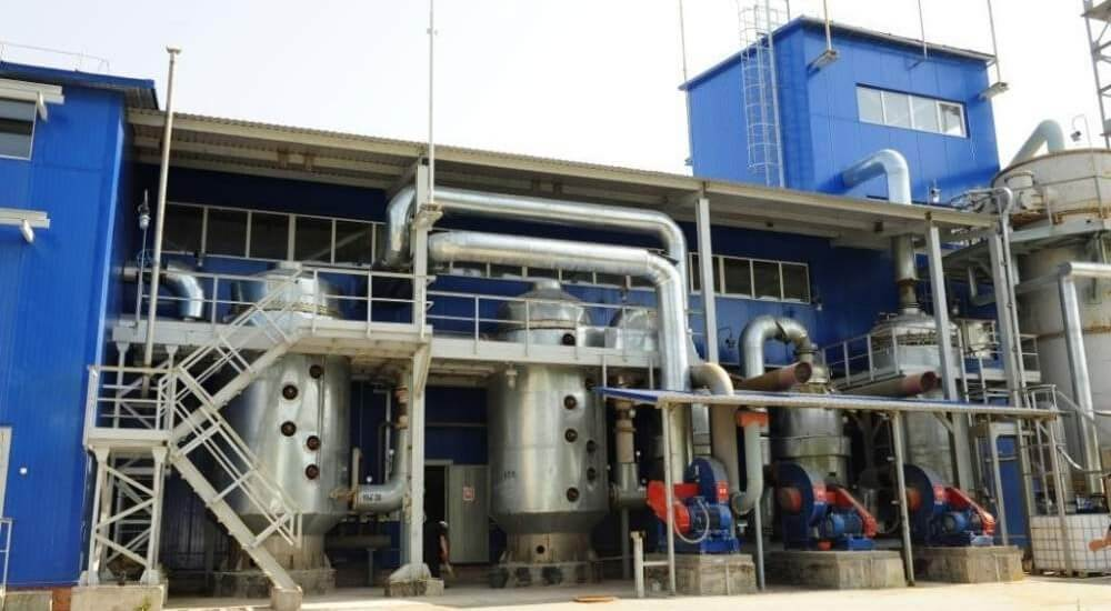 Installation of process equipment in the chemical industry