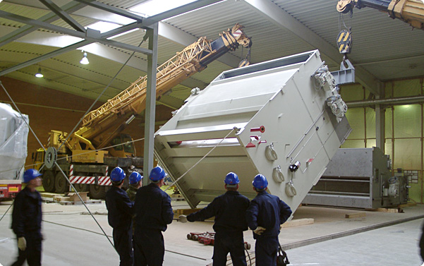 Installation of Equipment at Pulp and Paper Mills